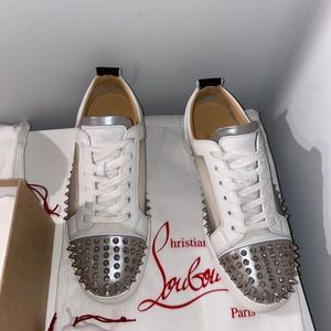 Christian Louboutin low-top sneakers with spikes